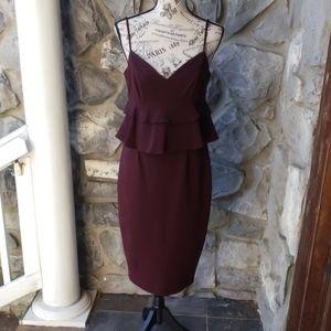 Gianni Bini Ruffled Top Dress